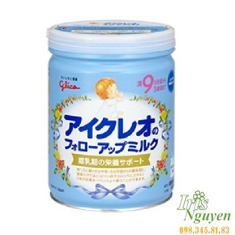 Sữa Icreo Glico số 9 (9-36m) (820g)