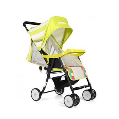 Xe đẩy trẻ em Seebaby QQ3 màu xanh lá