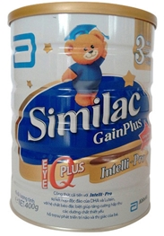 Sữa Similac Gain Plus Intelli - Pro IQ Số 3 - 400g