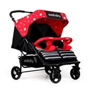 Xe đẩy trẻ em Seebaby T22 màu đỏ