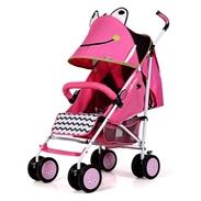 Xe đẩy trẻ em Seebaby T08 màu hồng
