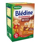 Bột lắc sữa Blédina (choco, caramen, bích qui) (240g)(12m)