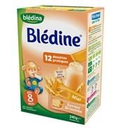 Bột ngũ cốc Bledina bánh mỳ, mật ong (240g) (8m+)
