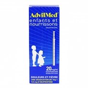 Thuốc hạ sốt kháng viêm Advil (200ml)