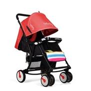 Xe đẩy trẻ em Seebaby Q4 màu đỏ