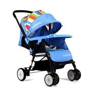 Xe đẩy Seebaby T11 màu xanh