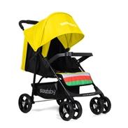 Xe đẩy trẻ em Seebaby T04 màu vàng
