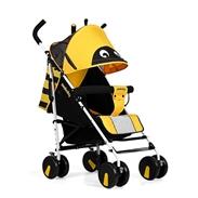 Xe đẩy trẻ em Seebaby S02-2 màu vàng