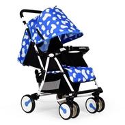 Xe đẩy trẻ em Seebaby Q4 màu xanh dương