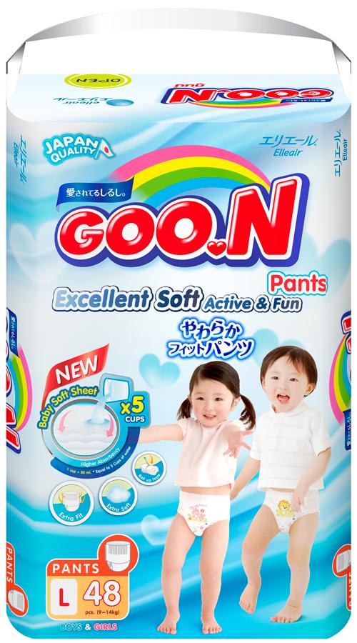 Bỉm quần Goon Slim JB L48(9-14kg)