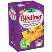 Bột lắc sữa Bledina vị rau củ (4m+) (192g)