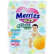 Bỉm quần Merries M58 (6-11kg)