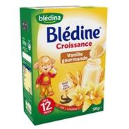 Bột pha sữa Bledina vị vani (12m+)(500g)