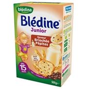 Bột lắc sữa Bledina (Bích quy, choco) (500g)(15m+)