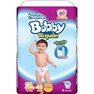 Bỉm quần Bobby XL48 ( 12-17 kg)