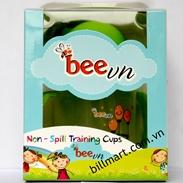 bình tập uống chống tràn bee bee (240ml)(9m+)