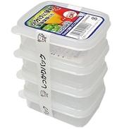 Hộp đựng thức ăn 100ml (4 chiếc)