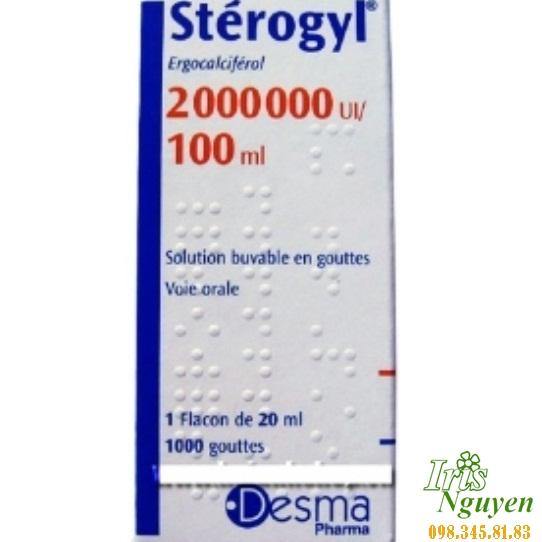Vitamin Sterogyl dung dịch uống