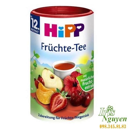 Trà Hipp dinh dưỡng hoa quả
