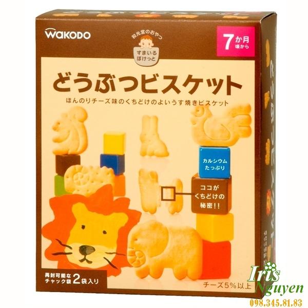 Bánh Wakado 7 tháng hình con vật