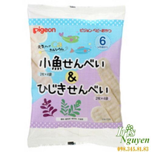 Bánh ăn dặm Pigeon vị rong biển (6m+)