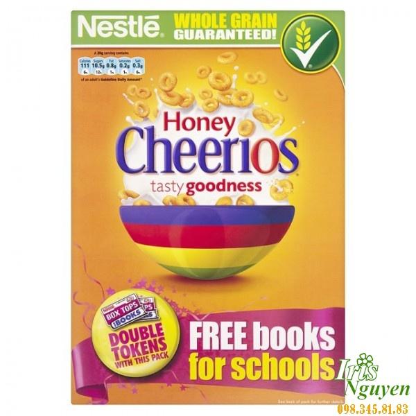 Ngũ cốc hạt Nestle Cheerios vị mật ong