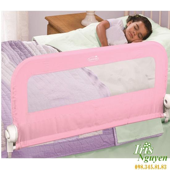 Chặn giường đôi màu hồng Summer