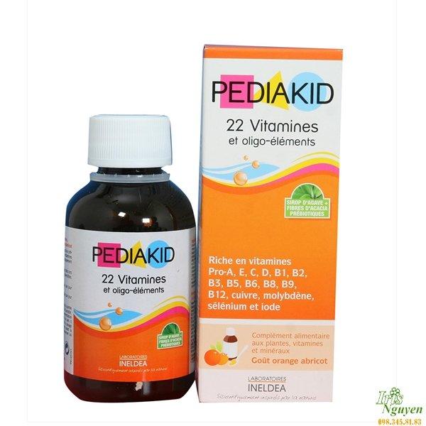 Pediakid 22 vitamines bổ sung 22 vitamin