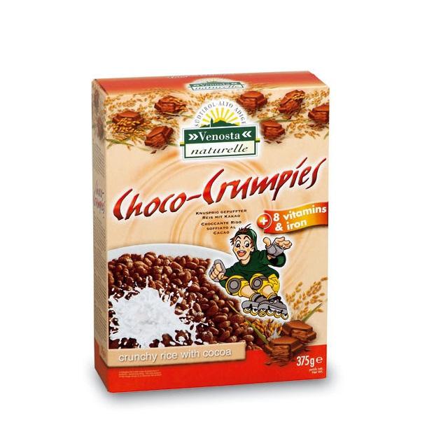 Bánh ngũ cốc Choco – Crumpies Venosta 375g