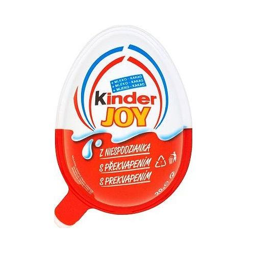 Trứng vỏ nhựa Socola Kinder (20g) (1y+)
