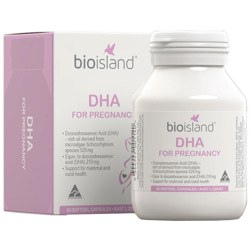 Vitamin bà bầu DHA Bioisland (60v)