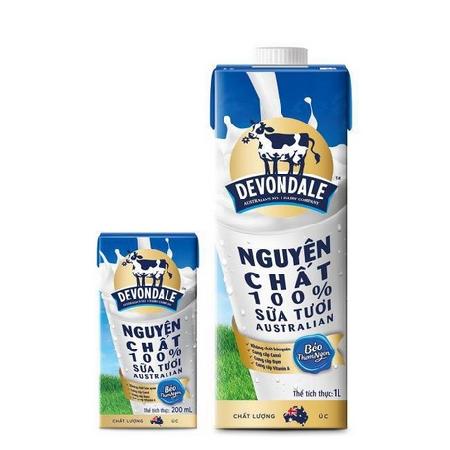 Sữa tươi Devondale full cream 1L