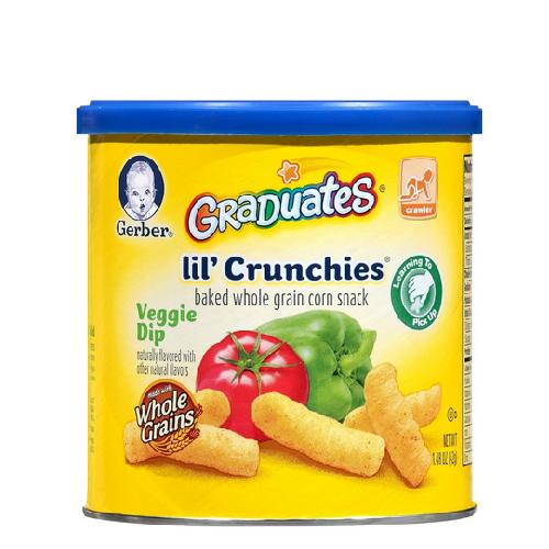 Bánh Gerber vị cà chua, ớt tây (42g) (8m+)