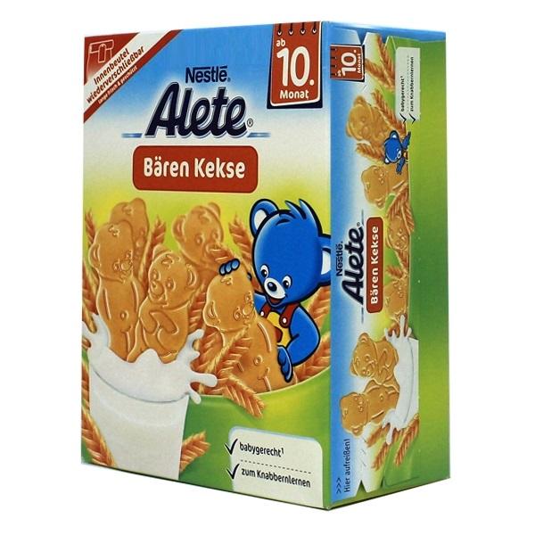 Bánh ăn dặm Nestle Alete Gấu (180g) (10m+)