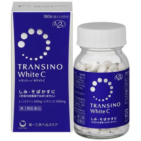 Viên uống trị nám làm trắng da Transino White C(180v)