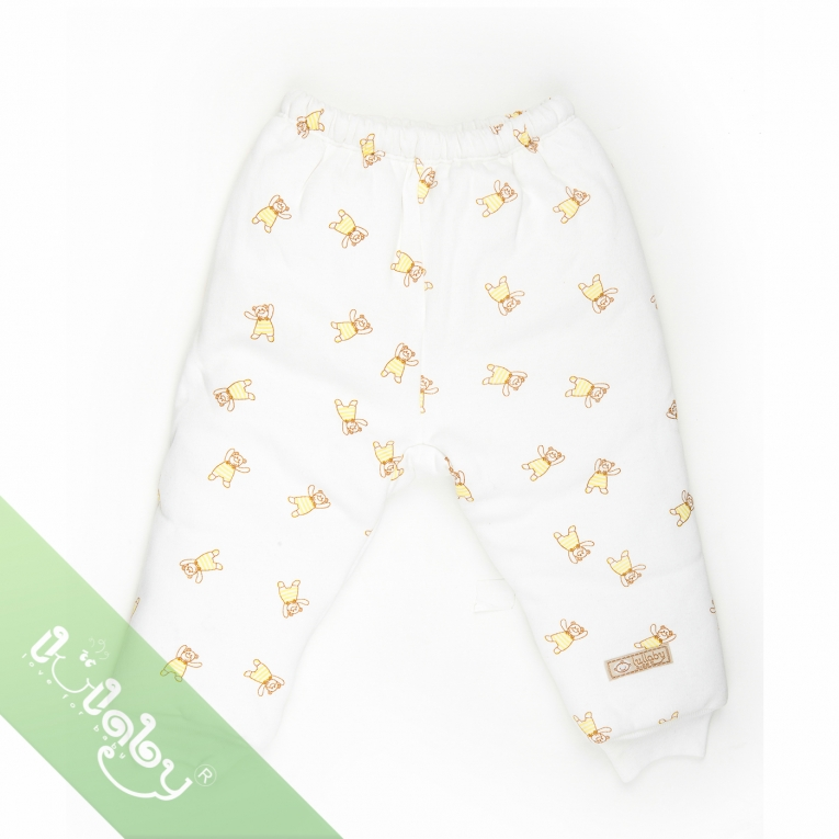 Quần bông 3 lớp in Lullaby 9 - 12m