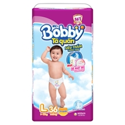 Bỉm quần cho bé Bobby ( 9-13kg) L36