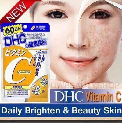Vitamin C DHC có tốt không? Công dụng, Thành Phần, Review