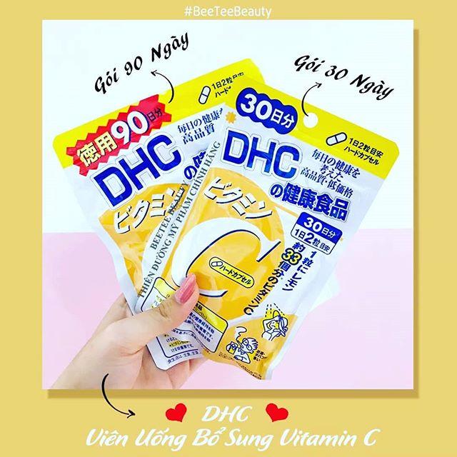 Review viên uống DHC chứa vitamin C có thực sự thần kỳ?