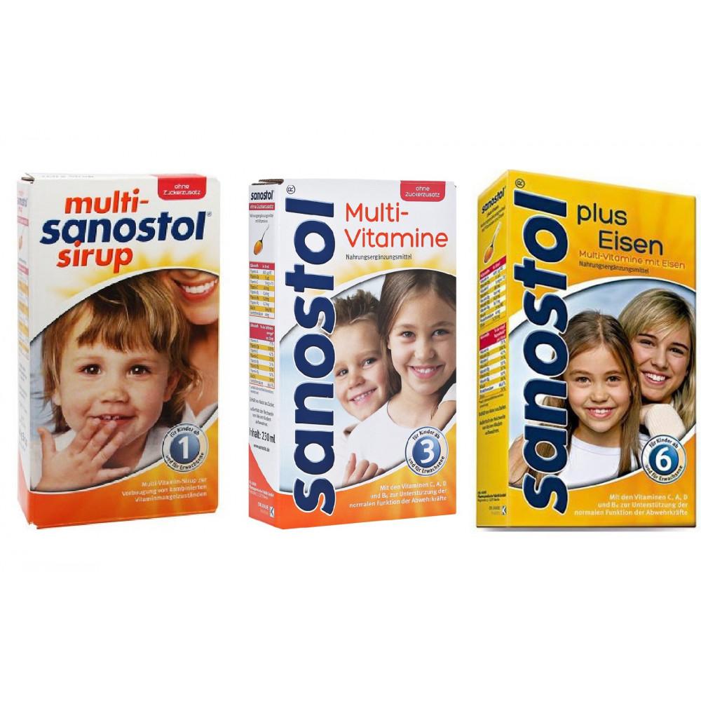 [GÓC CẢNH BÁO] Thực hư tác dụng của vitamin Sanostol Đức cho bé
