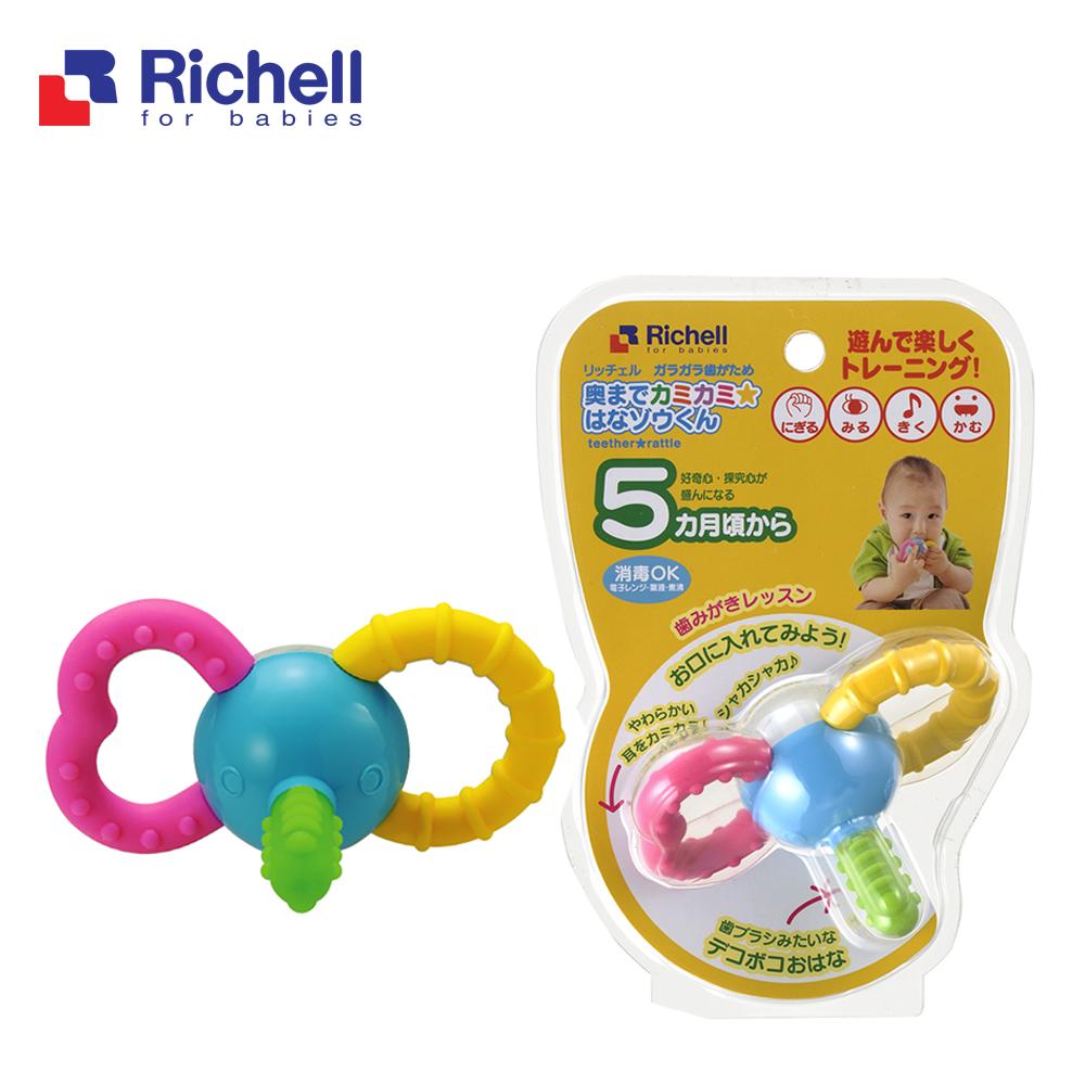 Gặm nướu xúc xắc voi con Richell RC93755