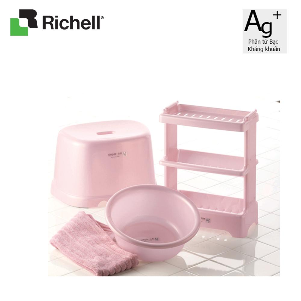 Chậu rửa mặt cho bé kháng khuẩn 4L Richell
