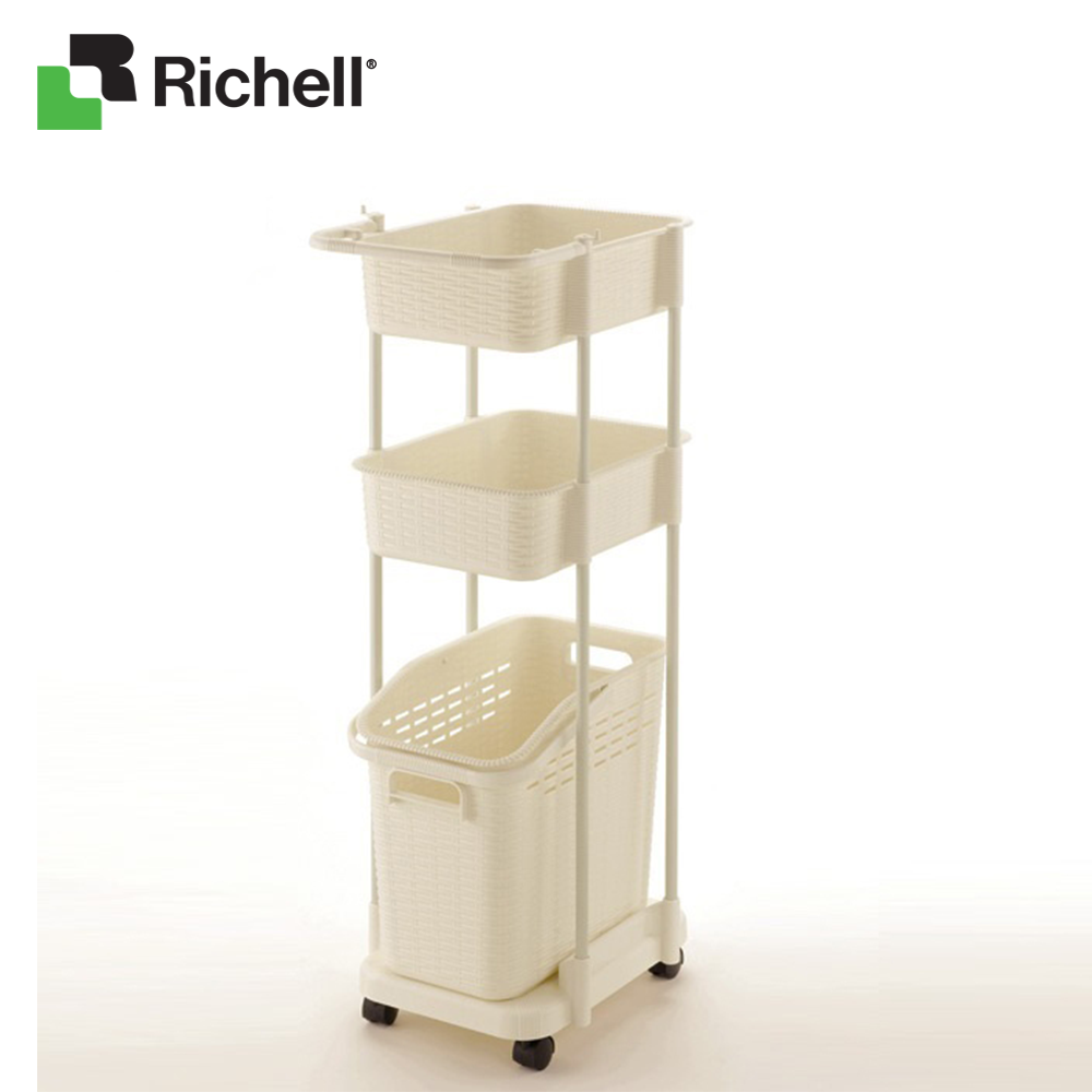Xe để đồ giặt 3 tầng G-105N Richell