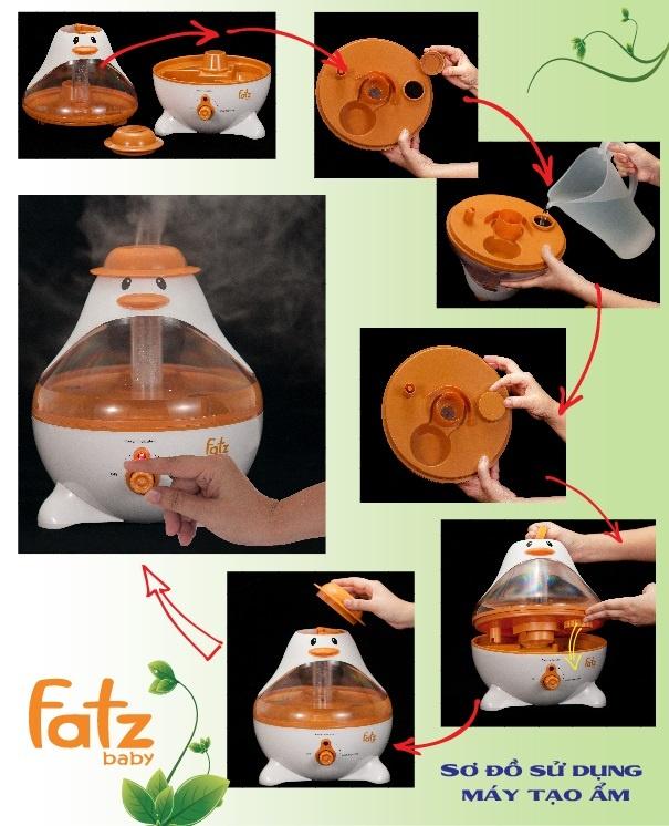 Máy tạo ẩm phun sương Fatzbaby FB6126JX