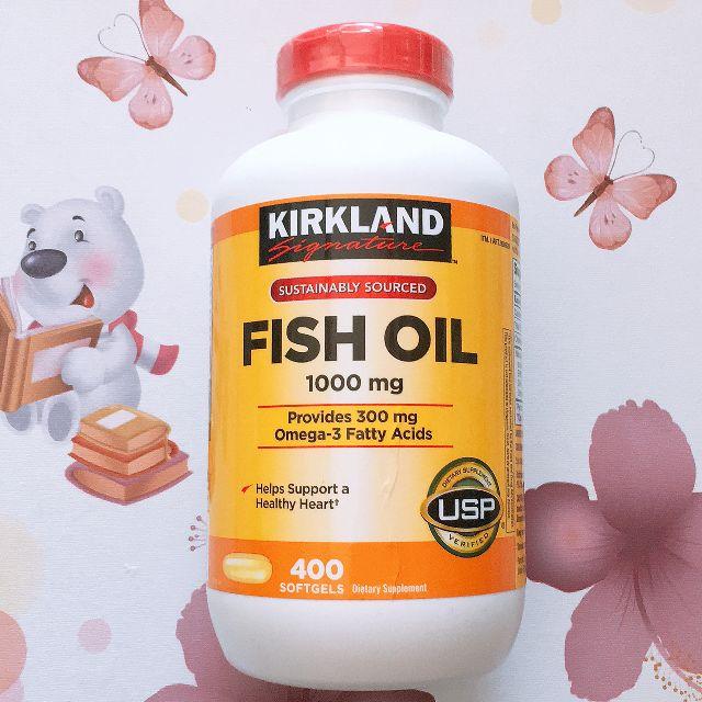 Viên tinh dầu cá Kirkland  Omega 3 400 viên