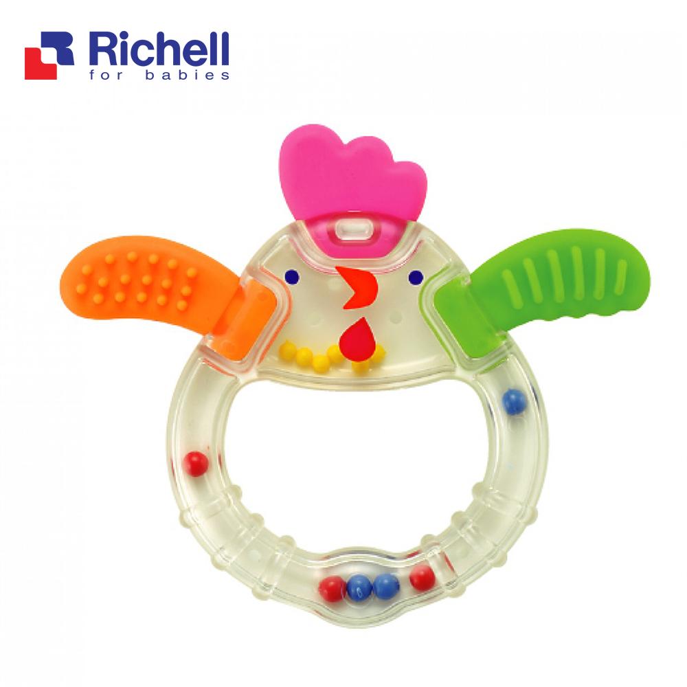 Gặm nướu xúc xắc gà con Richell RC93754