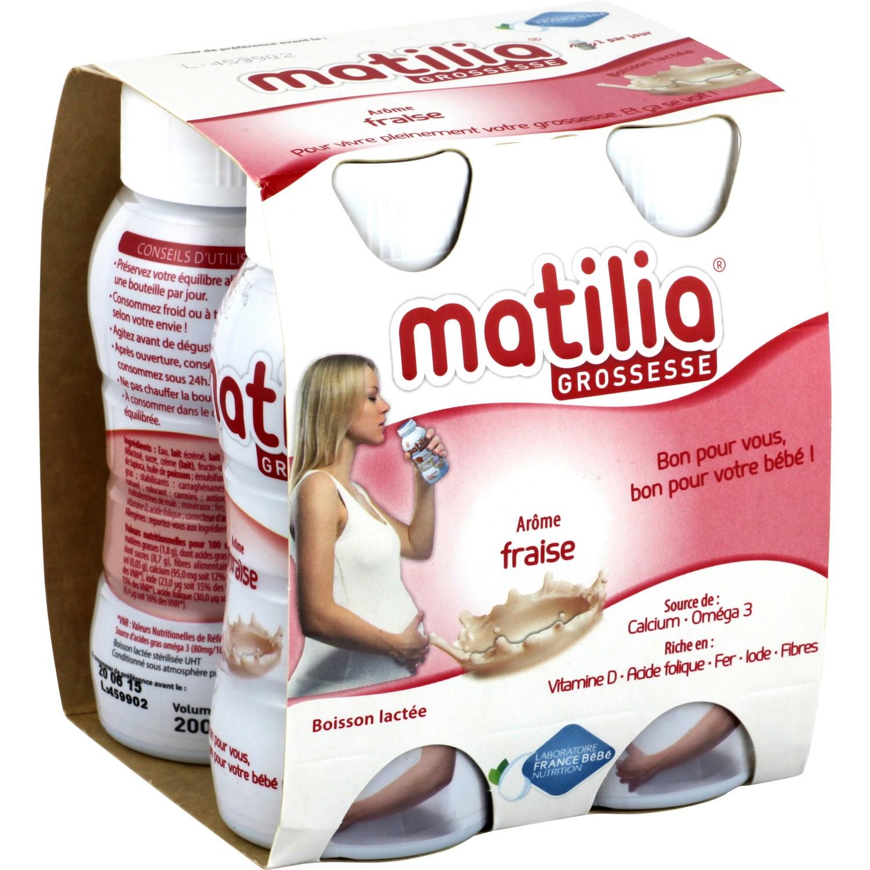 Sữa bà bầu Matilia Grossesse vị dâu (200ml)