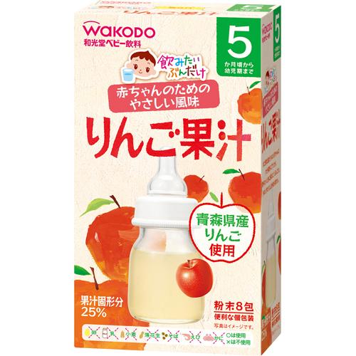 Trà tan hoa quả Wakodo - vị táo 5M+