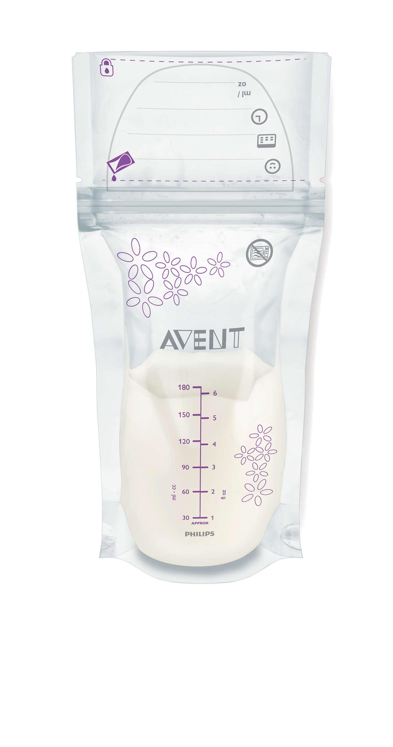 Túi trữ sữa mẹ Avent SCF603/25 (180ml)