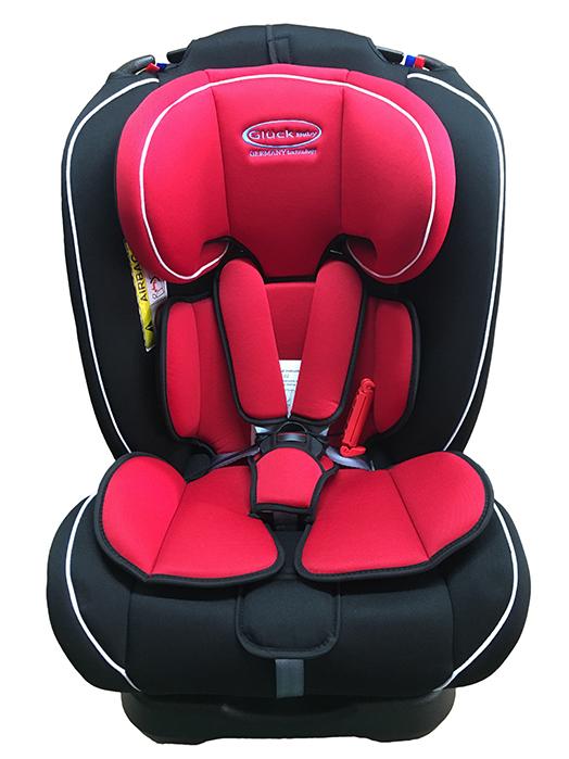 Ghế ngồi ô tô Gluck ZY-02 - màu đỏ